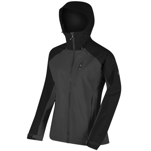Regatta WOMEN'S BIRCHDALE WATERPROOF SHELL JACKET - Seal Grey / Black